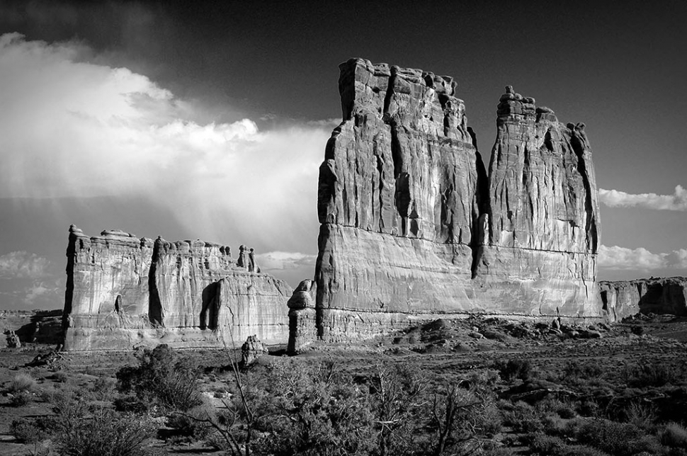 """Arches"" by Photographer David Baker"