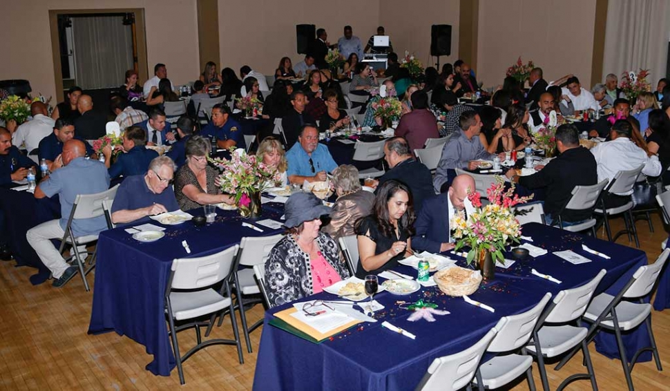 Fillmore Chamber of Commerce Annual Community Awards & Installation Dinner was well attended. Last week's and above photo courtesy KSSP Photo Studio, Fillmore.