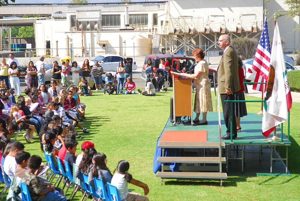 Sespe School held their graduation and awards ceremony last Wednesday for the 5th graders going on to middle school.