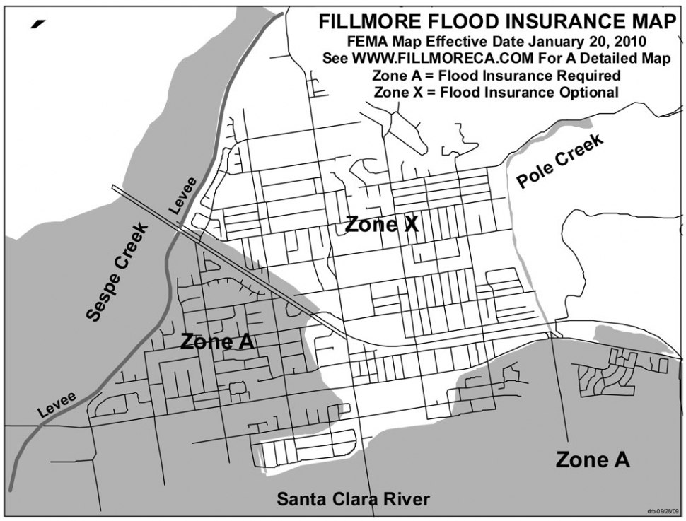 FEMA Flood Insurance Update The Fillmore Gazette - Current fema flood maps