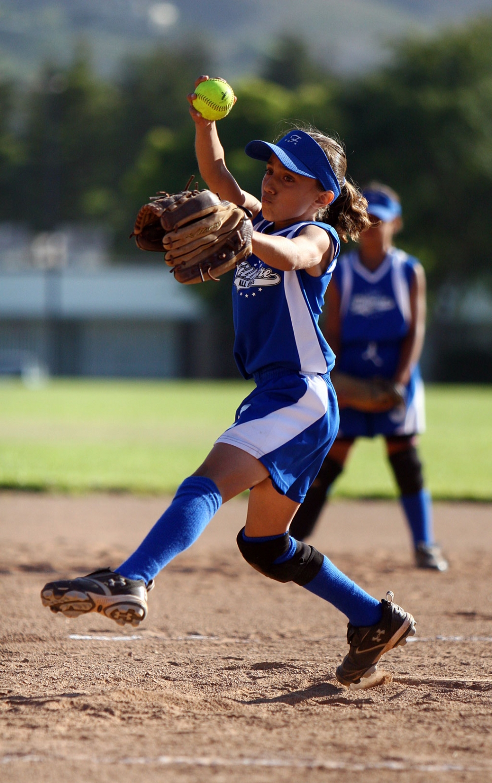 Kayleigh Thompson threw a no hitter against Moorpark last Friday. Fillmore won 14-0.