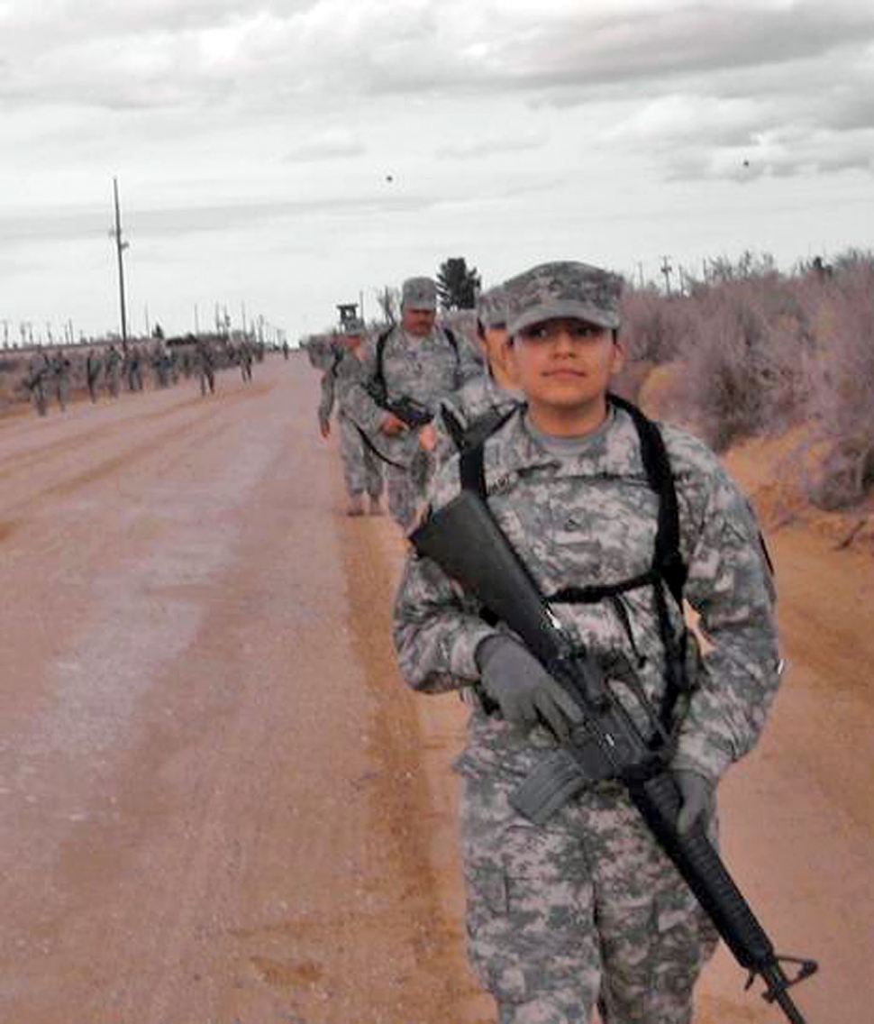 McGregor (TX) United States  city images : SPC. Juanita Altamirano at her pre deployment site in Mcgregor, TX.