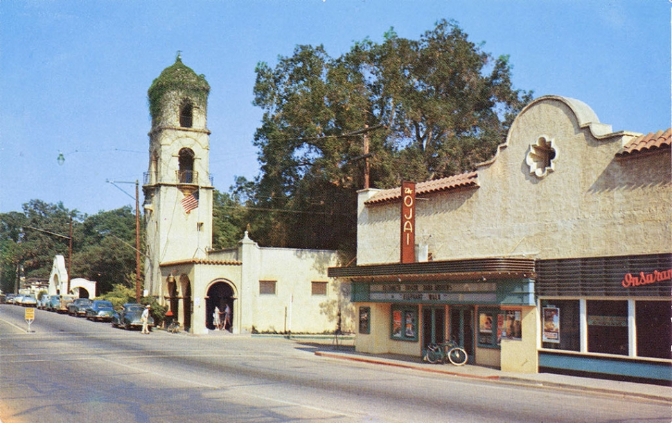 Ojai Post Card 1954 – Ojai Valley Museum Archives