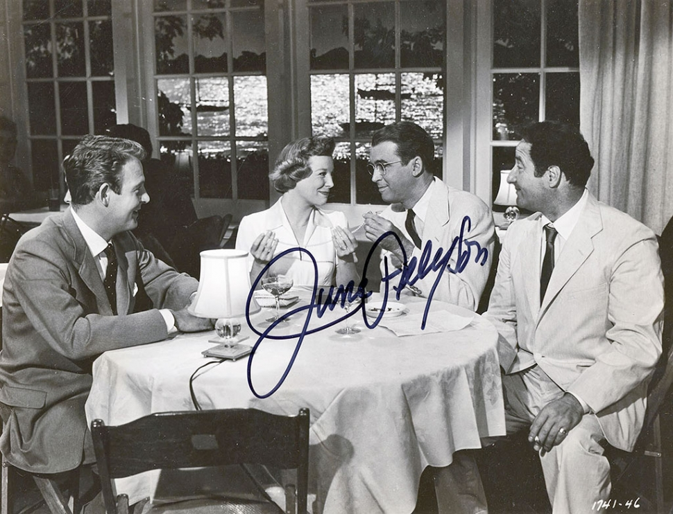 June Allyson and James Stewart – David Mason Collection