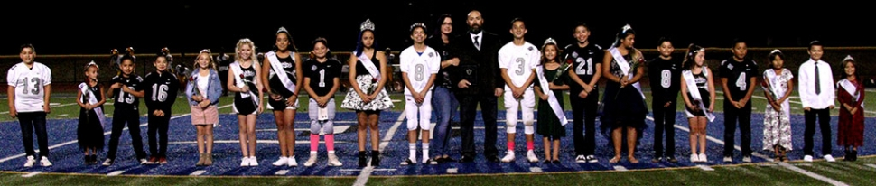 On Saturday, October 19th the Fillmore Raiders Youth Football & Cheer held their 2019 Homecoming at Fillmore High School Football Stadium. Pictured above is this year's 2019 Homecoming court, along with their Grand Marshall (centered) Danny Nunez being recognized for his 50th year of commitment to the program. Photos courtesy Crystal Gurrola.