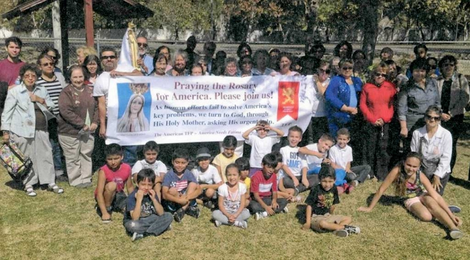 St. Francis of Assisi Church held their annual Rosary Rally on Saturday, October 14, 2017 at Shiells Park where they