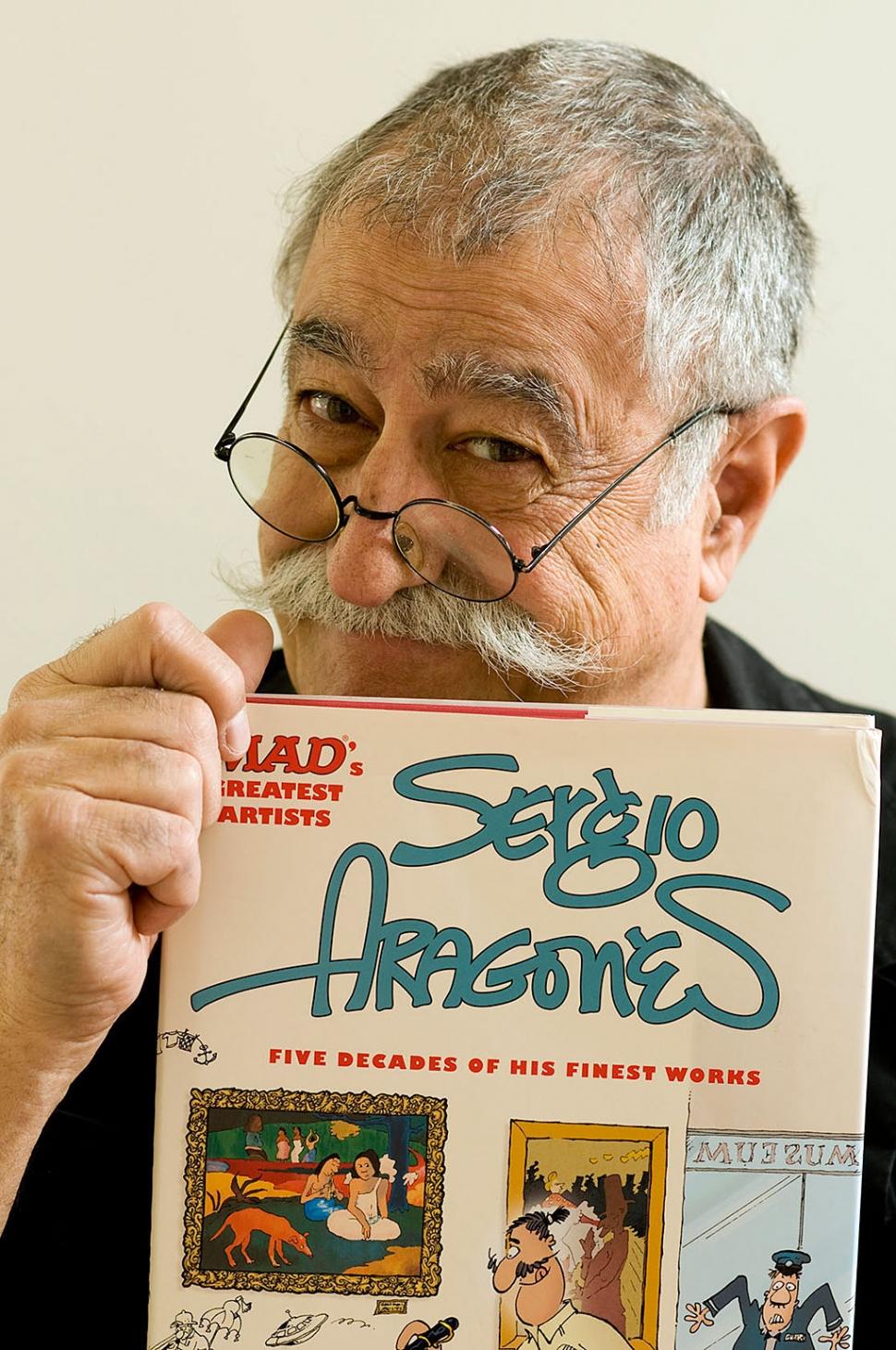 Meet Sergio Aragonés at Ojai Valley Museum | The Fillmore ...