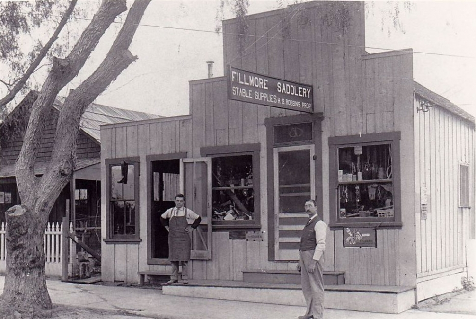 Fillmore Saddlery. Photos courtesy Fillmore Historical Museum.