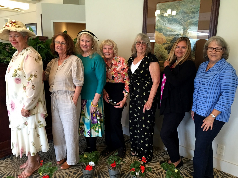 On Wednesday, June 5th, at the Saticoy Country Club, the Ventura County Garden Club elected new officers for the 2019/