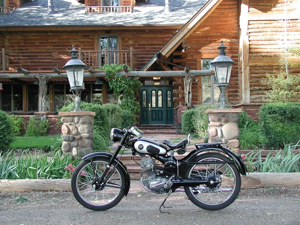 Vintage Honda Motorcycle 06 14 10