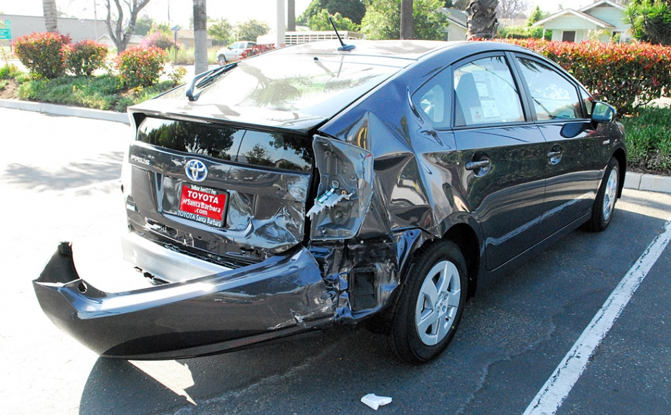 Non Fatal Prius Rear Ended Priuschat