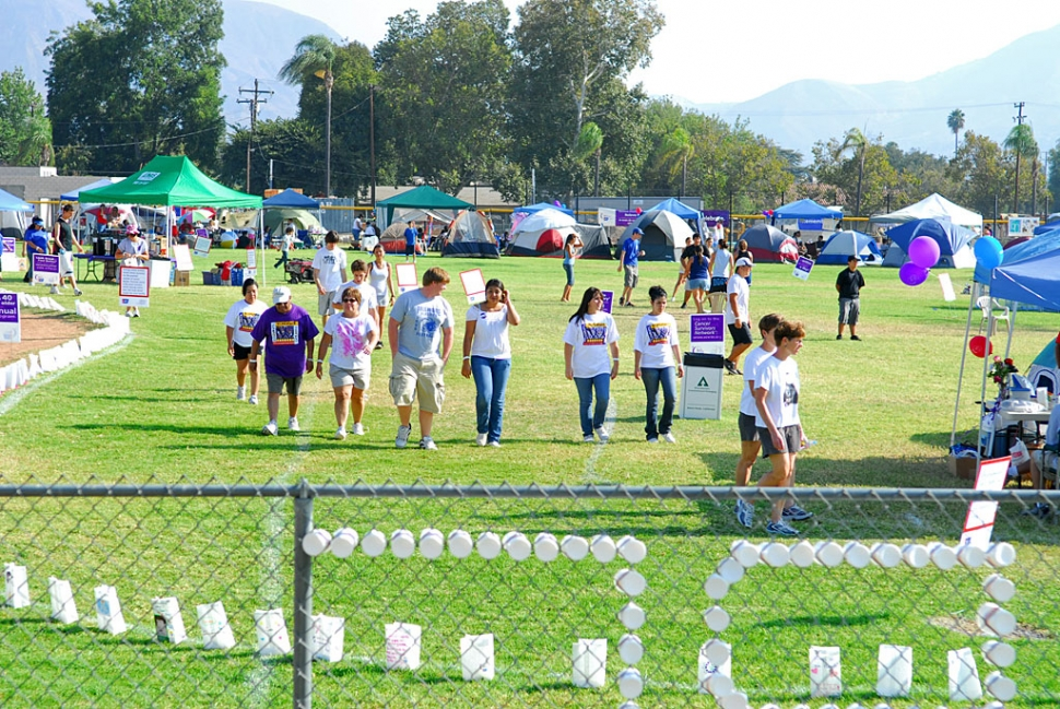 Saturday's Relay for Life took place at the Fillmore High School baseball field.