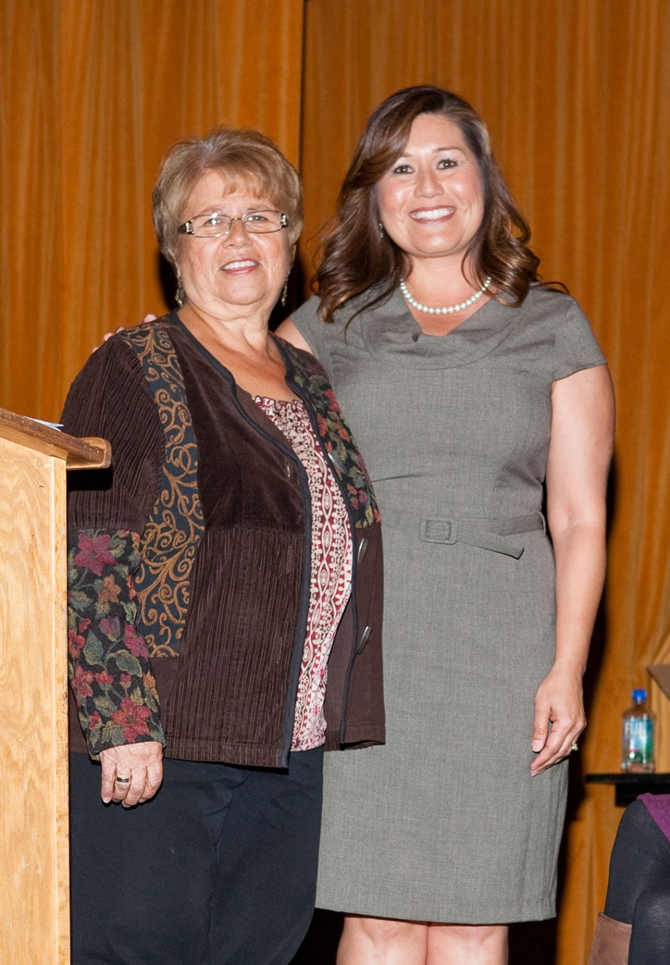 Administrator of the Year Cynthia Frutos