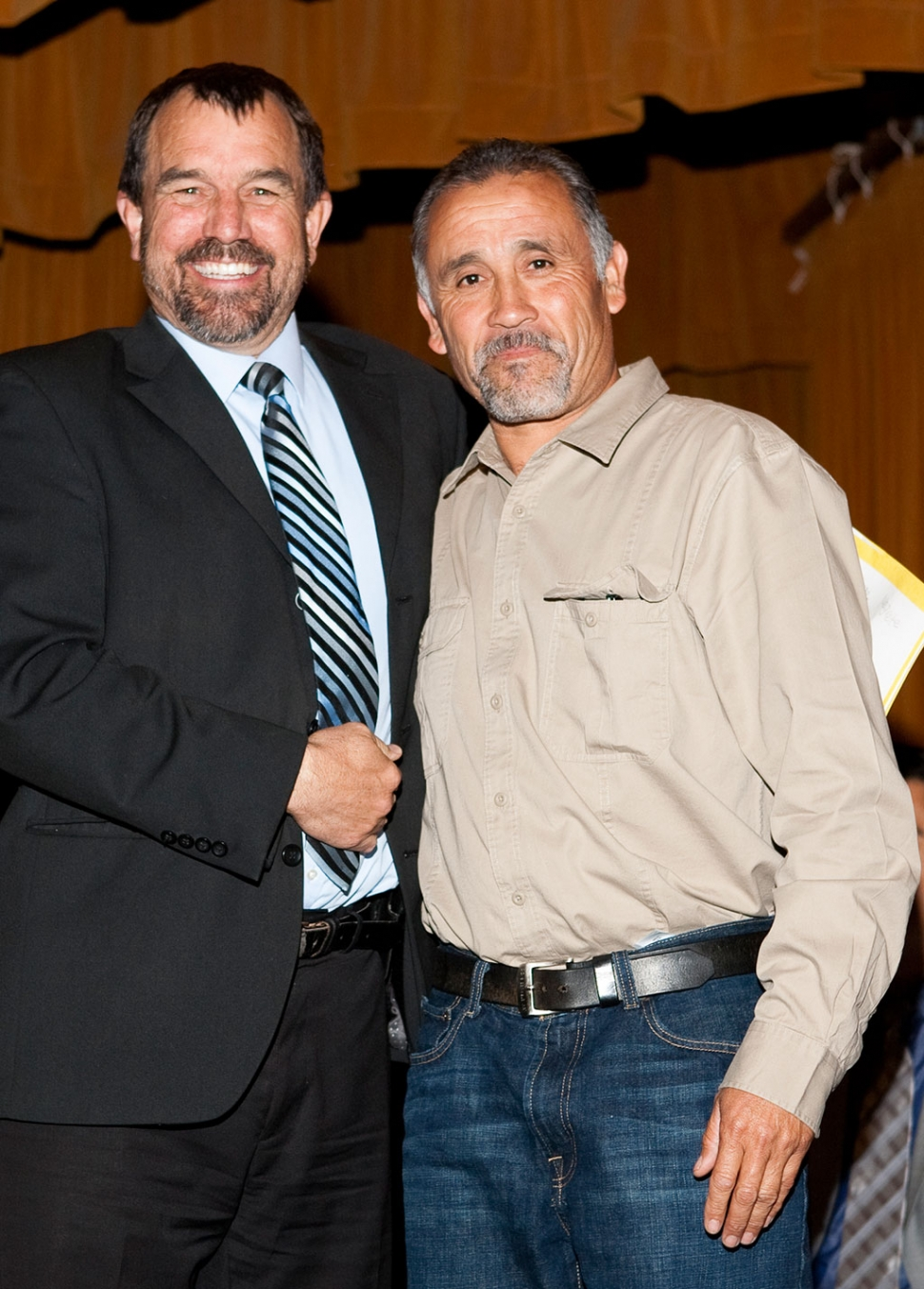 Classified Employee of the Year George Negrete