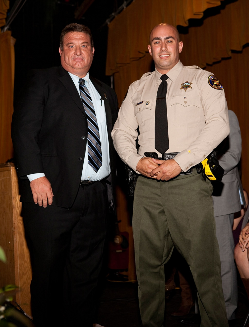 Officer of the Year Deputy Oren Ryerson