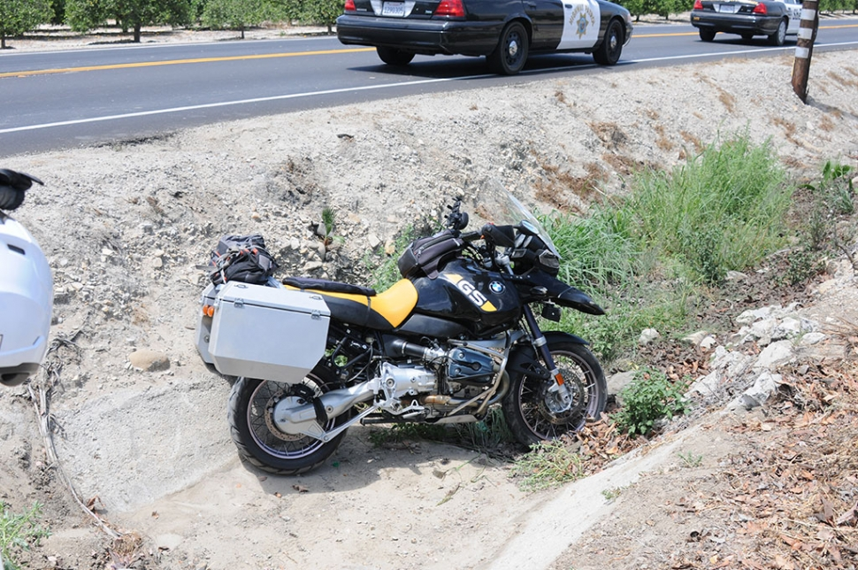 On Saturday, July 26, at approximately 1:25 p.m. an accident occurred on Highway 23 near the entrance to Elkins Golf Course. A Monster Energy Drink delivery truck was involved in a BMW motorcycle leaving the roadway and driving into a storm drain. The driver of the motorcycle appeared to be uninjured and the bike suffered minor damage. Cause of the incident was not stated at the time.
