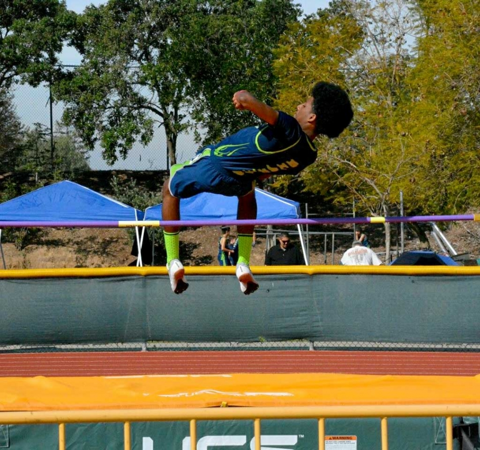 Heritage Valley Blazer Dante Mata breaking a 2012 record in