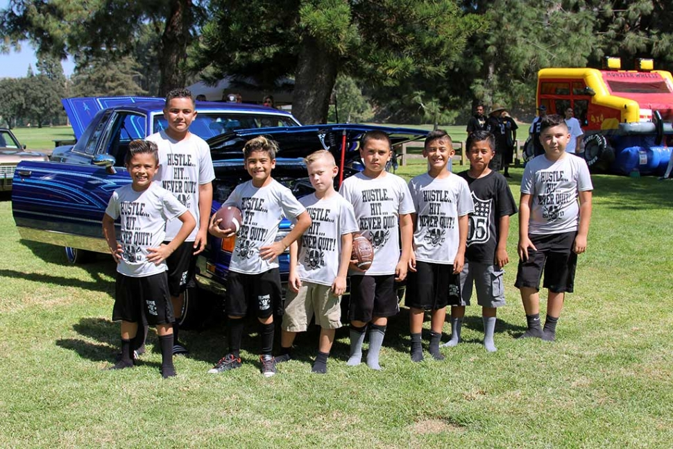 On Saturday, August 12th, the Nosotroz Car Club hosted a Car Show for Fillmore Youth Raiders Football. The event was held at Elkins Golf Course from 11am – 4pm. They had food, drinks, music, and fun. All proceeds went to the Fillmore Raiders Youth Football. Photo Courtesy Crystal Gurrola.