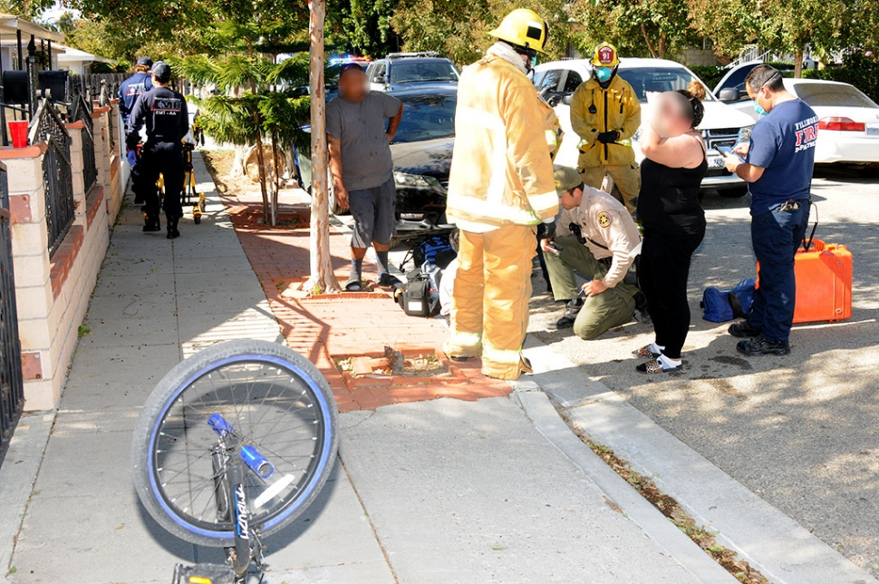 On Wednesday, October 28th at 11:55 am on Bard Street, first responders were called to a collision between a vehicle and a boy on his bicycle. The boy was examined at the scene with minor injuries. Cause of the accident is still under investigation.