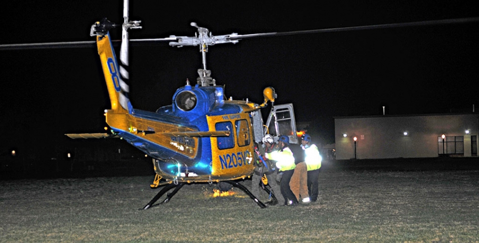 A 13-year old Fillmore girl was found lying in the 100 block of Sespe Avenue on Friday evening around 7:30pm. Initial reports indicated she was unconscious and not breathing with a head injury. She was airlifted our of the Vons parking lot area, conscious and breathing, in stable condition. Apparently she jumped out of a moving vehicle and hit her head. The car, driven by her father, was going between 20 and 30 mph.