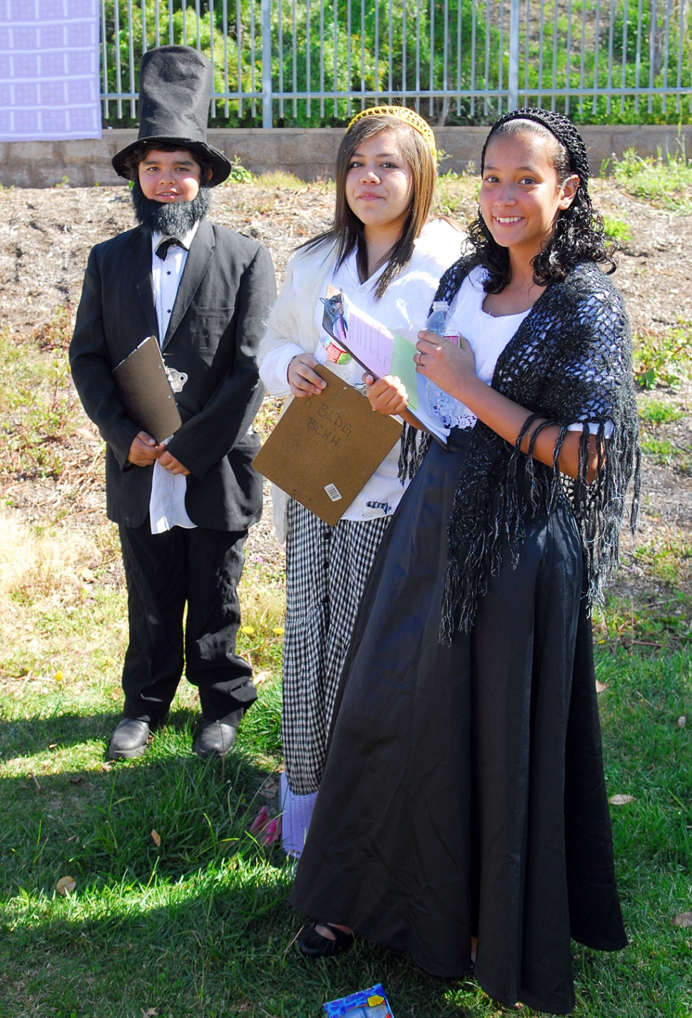 Fillmore Middle School Civil War Reenactment
