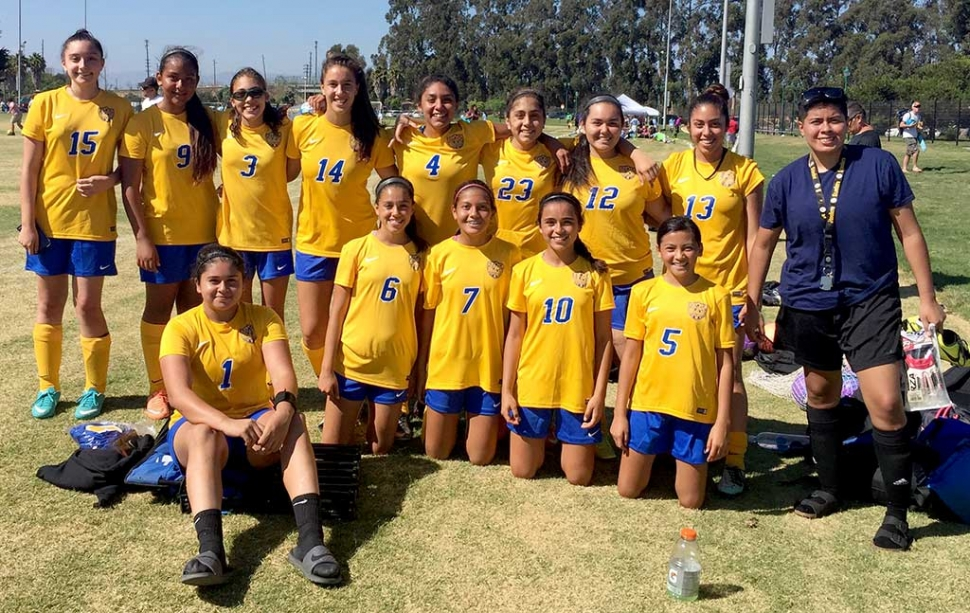 Oxnard Wave Soccer Club 16U Team started the 2016 Season off a win again Newbury Park this past Saturday September 10th.