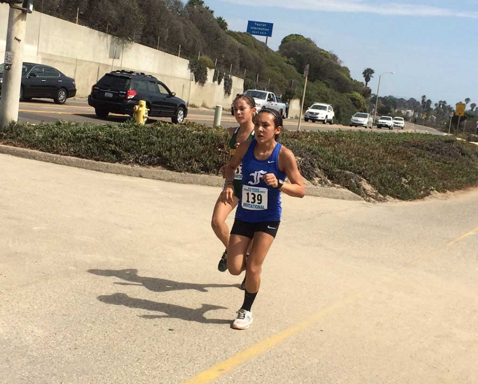 Carissa Rodriguez at Seaside Invitational