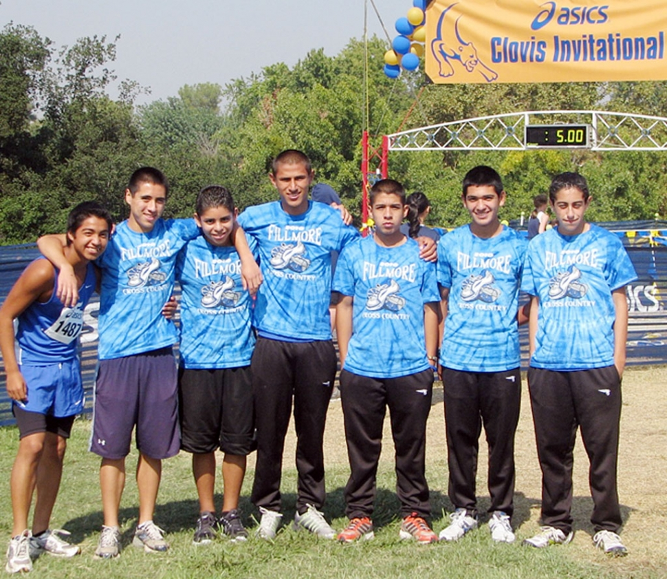 Pictured (l-r) Christian Rodriguez, Ruben Cruz, Anthony Frias, Hugo Valdovinos, Adrian Mejia, Sammy