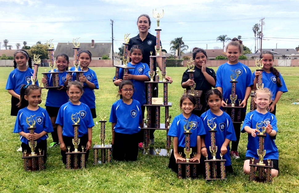 Pictured above is the California United's  2011 Girls Team Top Row l-r: Viany Rubio, Leani Paz, Aleana Camarillo, Destiny Segura, Ramona Sanchez (HC) Jillian Lopez, Zoey Williams, Amilia Tobias Bottom Row l–r: Arline Morales, Aleena Suarez, Isabel Guzman, Gabrielle Ramirez, Andrea Manzo, Brielle Henderson.