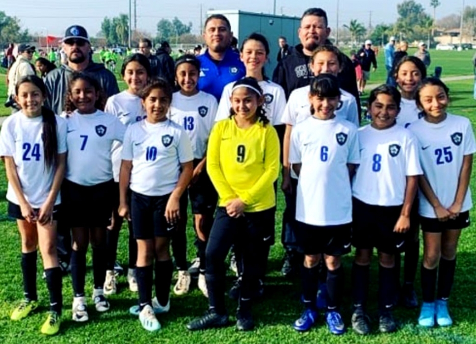 Pictured above is the 2008 Girls Bronze team which will also compete this coming weekend in the second round for the State Cup in Oceanside. Photos courtesy Maria Alvarez and Pasquale Nappi.
