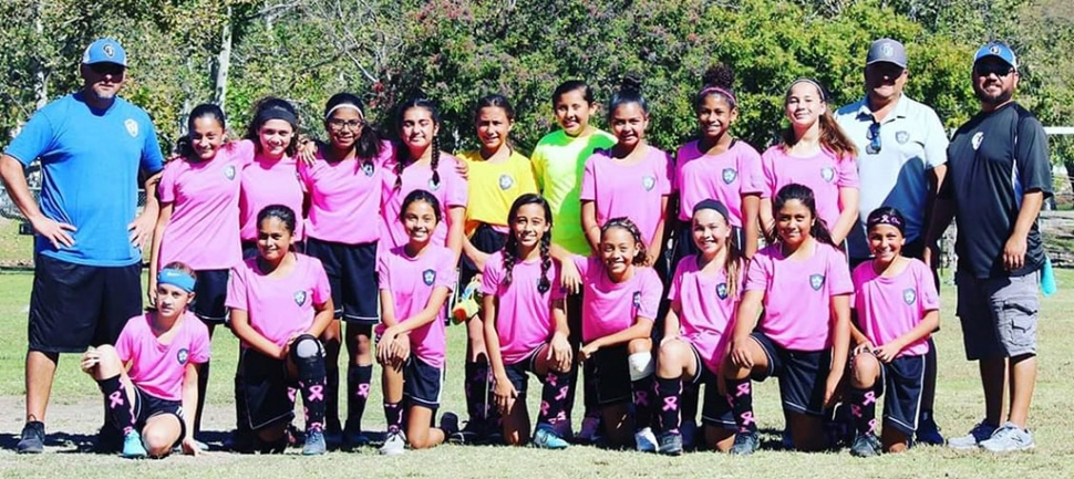 Congratulations to the California United 2006 Girls Bronze Alpa Team for clinching 1st place in the Bronze Alpha Coast