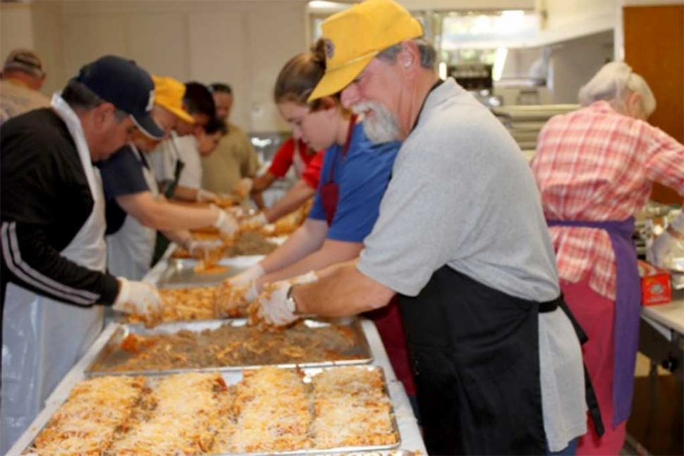 The Fillmore Lions Club Annual Enchilada dinner was once again a big success with nearly 265 dinners sold. Thank you Fillmore for supporting the club! Photos courtesy the Fillmore Lions Club.