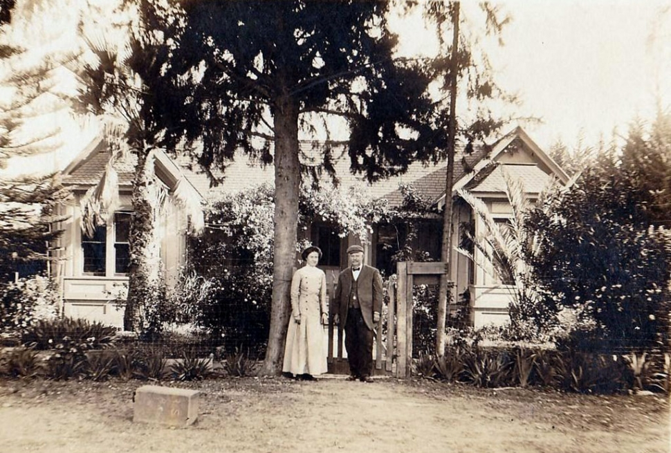 First Hinckley home, John and Cora