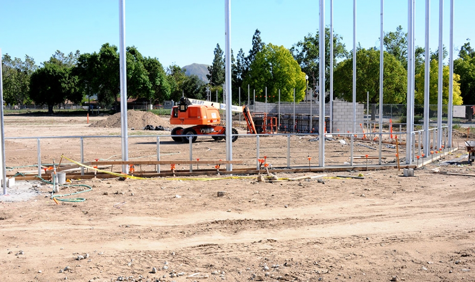 In April of this year Fillmore Unified School District announced the start of improvements to the Fillmore Middle School baseball and soccer fields, thanks to Measure V Bond, passed by residents of Fillmore and Piru in the 2016 election. Pictured above are some progress photos of the work in progress.
