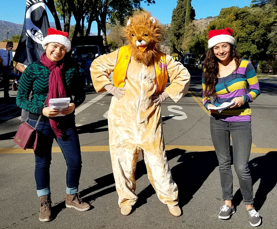 Saturday, December 7th at 10am will be the 18th Annual Fillmore Lions Club Christmas Parade, taking place on Central Avenue. Pictured above is a photo from last year's Christmas parade.