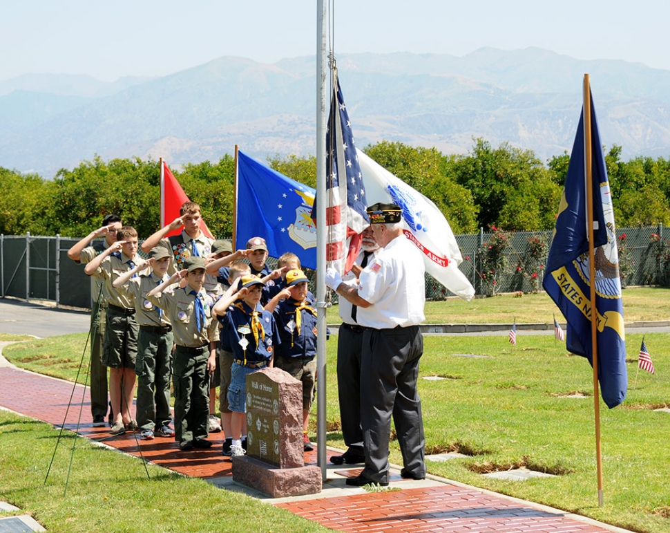 Pledge of Allegiance, Boy Scout Troop #406 and Cub Scout Troop #3400