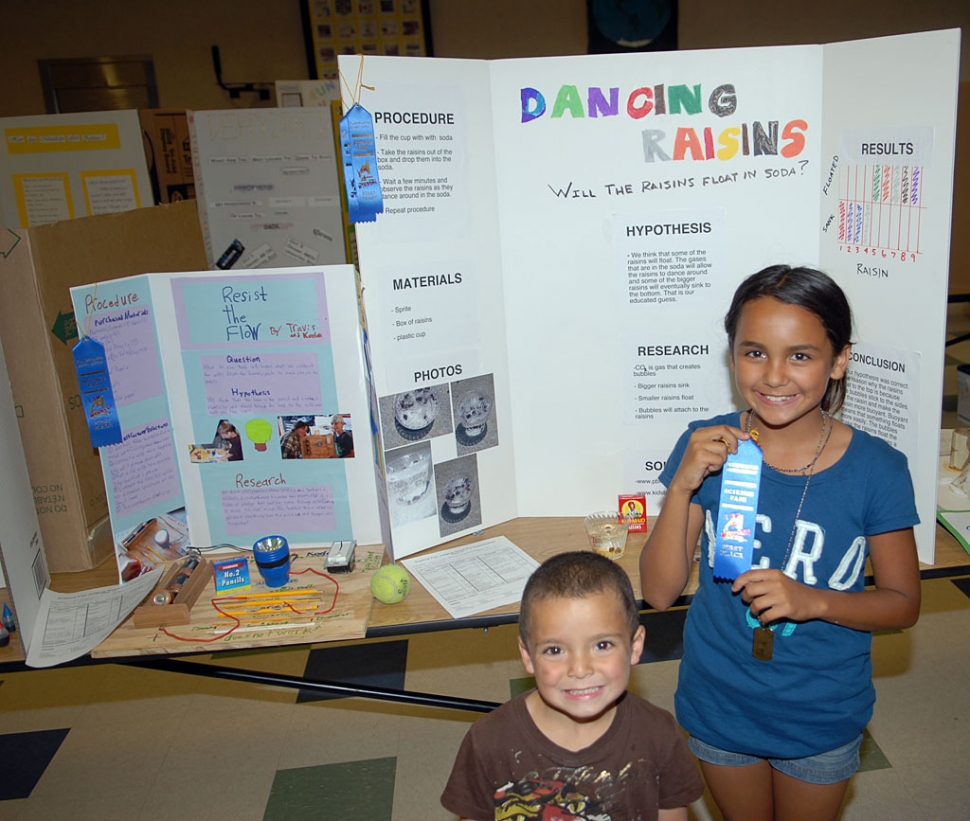 mountain vista art science show a great success the fillmore gazette  above just one of the first place winners at the mountain vista science fair