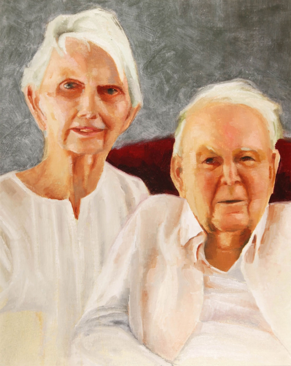 """The Folks"" – Artist Mark Whitman – On loan from collection of John and Nancy Whitman"