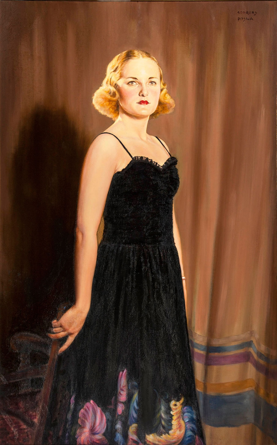 """Kay Haley"" – Artist George's Posla – 1937. On loan from collection of Robert Haley."