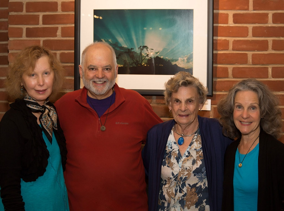 (l-r) Helene Vachet, Brian Berman, Marta Nelson and Julie Heyman. Photo by David Baker.