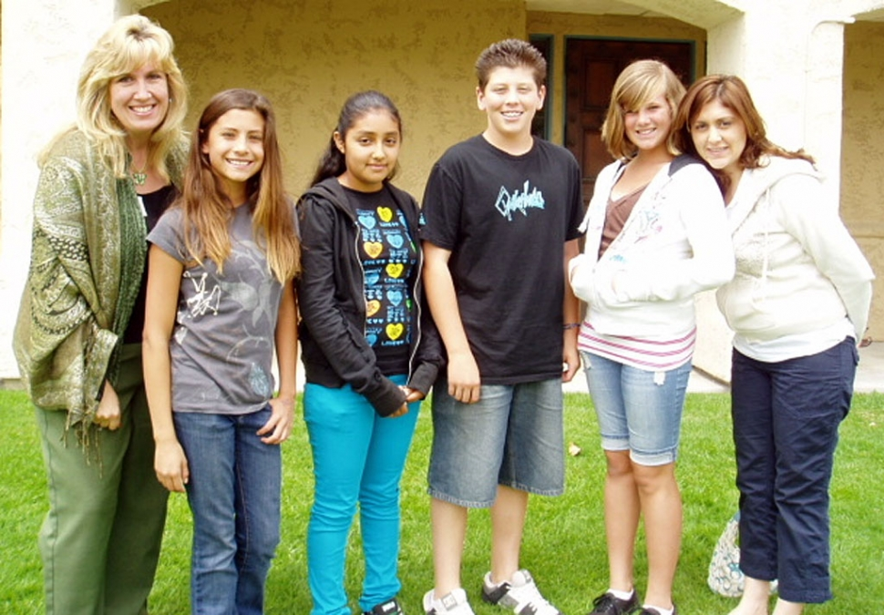 A group of Fillmore Middle School students attended a Peer Mediation Jamboree at the Ventura Center for Dispute Settlement.