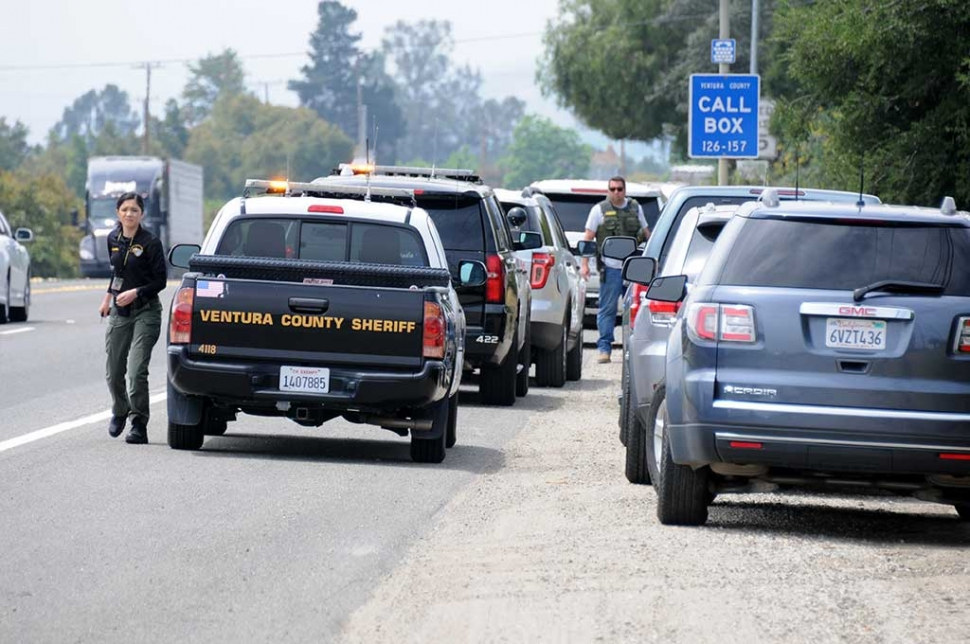 Vehicle Pursuit Ends At Sr 126 Timber Canyon Road The