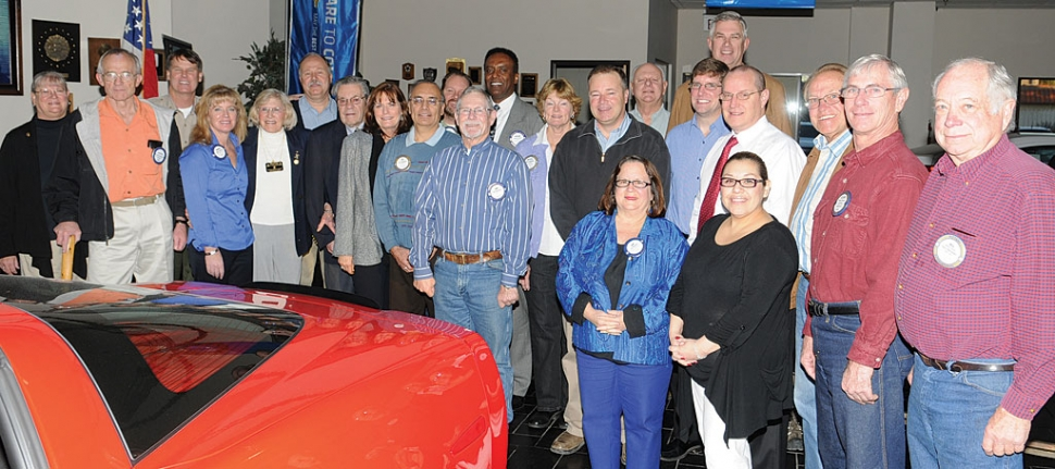 On January 16th, the Sun Rise Rotary and the Noon Time Rotary came together as one. The Sun Rise Rotary held their last meeting at William L. Morris Chevrolet Dealership.