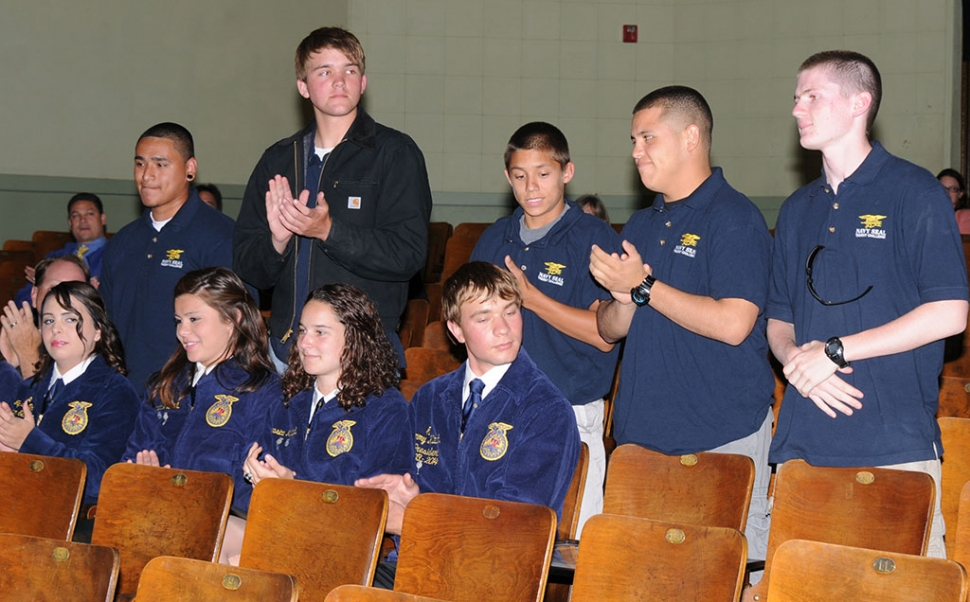 FHS Students who joined in the Navy SEAL program.