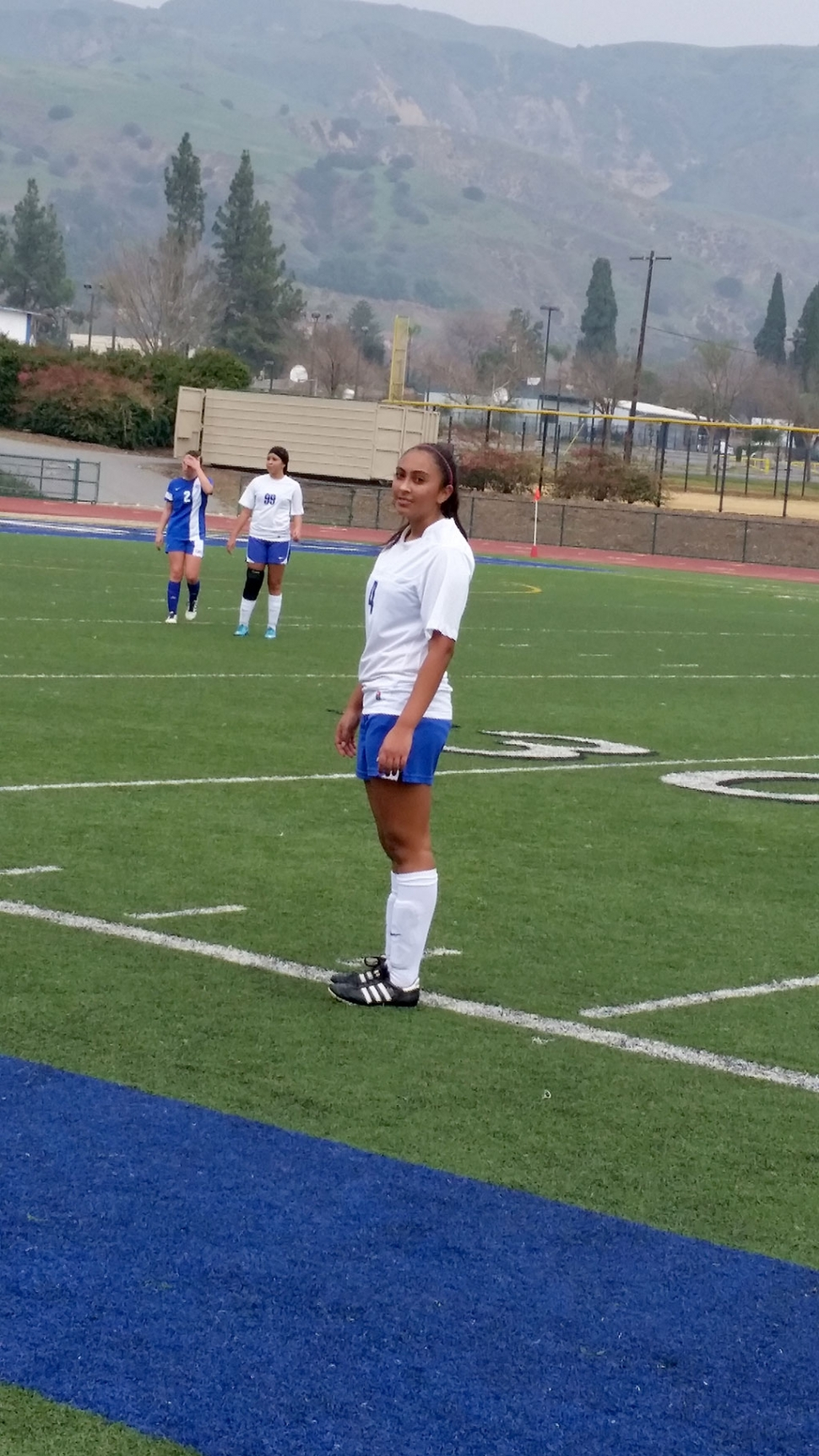 Fillmore won Vs Cate 2-0 behind Esmeralda Murillo 's two goals. JD Delarosa & Naye Baez assisted on the goals. Yari Vasquez, Ana Rincon, Maria Auarez & JD Delarosa played well defensively. Esmeralda Murillo & Reylene Martinez look on during a substitution. Fillmore 6-2-2. League 1-1-0.