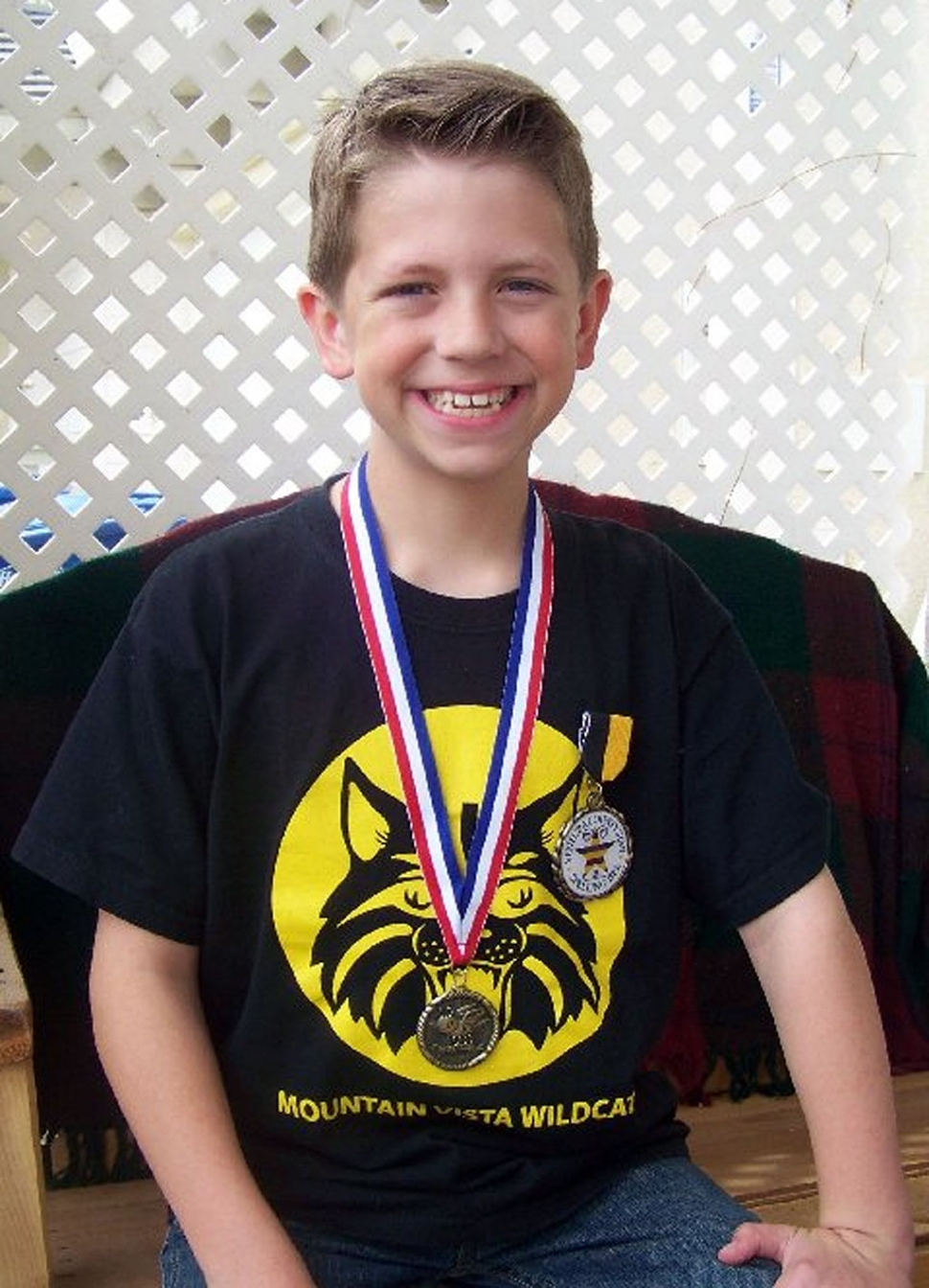 Vista 4th grader, Luke Myers, headed to the county spelling bee
