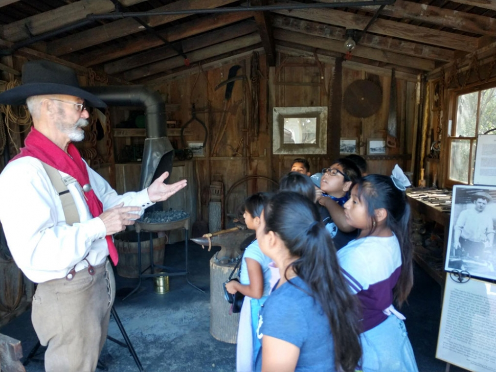 Last week the 4th graders from San Cayetano Elementary school visited the Stagecoach Museum in Conjeo Valley. The students learned how the pioneers in the 1800s use to live. They learned how to clean rugs, do chores, bake, play musical instruments, line dance and more. Pictured above are the students listening to a tour guide explain pioneering days.