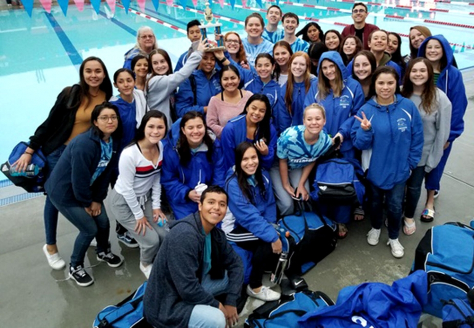 Fillmore High Swim Team attended their first meet at Hueneme High on Friday, March 1, 2019. Fillmore High took 3rd place overall.