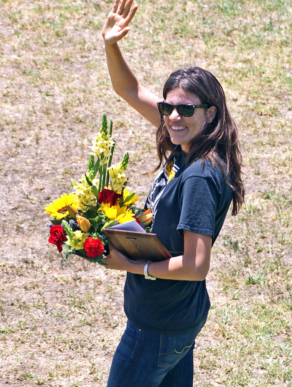 Laura Todis, Ventura County Office of Education's Teacher of the Year. Photo by Bob Sube.