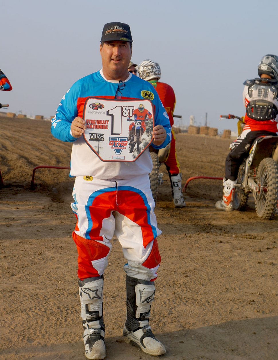 Greg Boren wins 450 c class at the othg nationals in Tulare CA on 11/9/2014. Its been a great year. I would like to thank my family for their support and Kenny at Bto sports and Jeff at thousand oaks power sports for all your support.